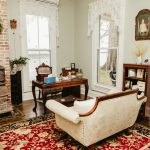 The Turner Sitting Room faces the Wicomico River and serves as a more intimate place to unwind with a guest or two.