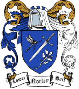 The Lower Notley Hall Crest